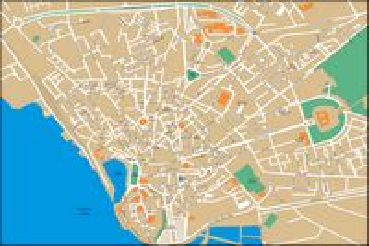 Faro (Portugal) city map