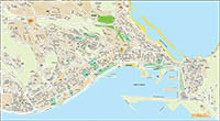 Las Palmas de Gran Canaria - city map