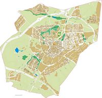 Leganes - city map