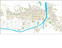 Lorca (Murcia) city map