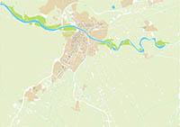 Lorca (Murcia) city map