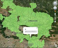 Mapas provinciales con las �reas de los C�digos Postales