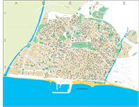 Matar� (Barcelona) city map