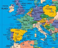 Poster world map and sea ports and airports poster world map and sea ports and airports detailed view gumiabroncs Gallery