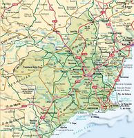 Mapa de la Region de Murcia