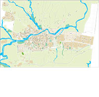 Ontinyent-Onteniente (Valencia) - city map