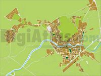 Orihuela - city map