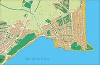 San Juan de Alicante - city map