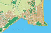 San Juan de Alicante - city map
