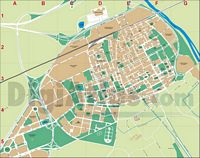 El Prat de Llobregat (Spain) - city map