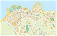 Puerto de la Cruz - city map