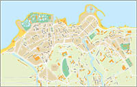 Puerto de la Cruz - city map