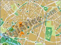 Salamanca - city map