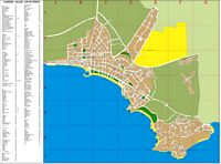 Salou - city map
