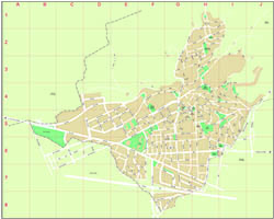 Sant Just Desvern city map