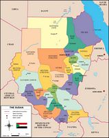 Map of Sudan