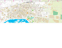 Talavera de la Reina (Toledo) - city map