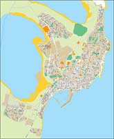 Torrevieja (province of Alicante) - city map