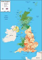 Map of United Kingdom