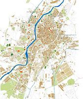 Valladolid city map