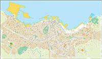 Vigo - city map
