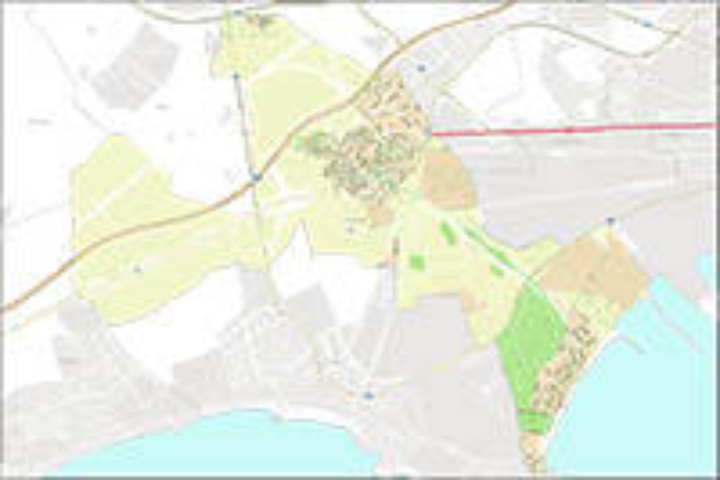 Vila-seca - city map