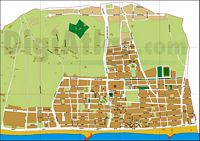 Vilassar de Mar (Barcelona, Spain) - city map