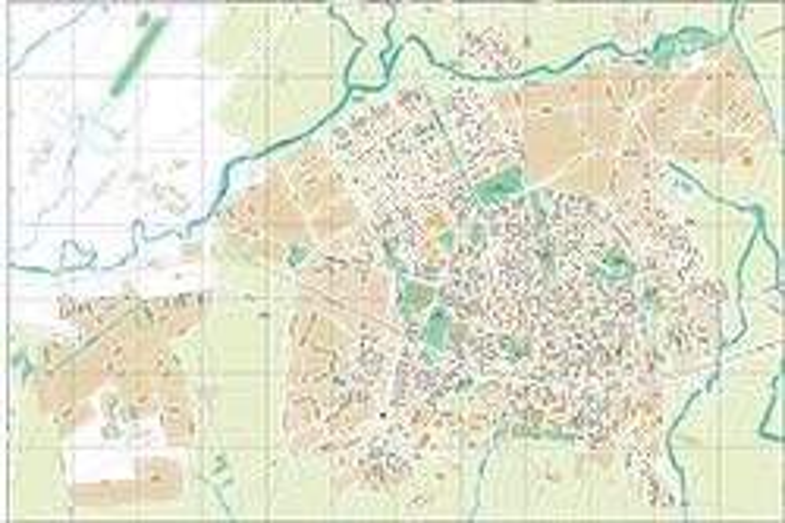 Vitoria-Gasteiz - plano callejero