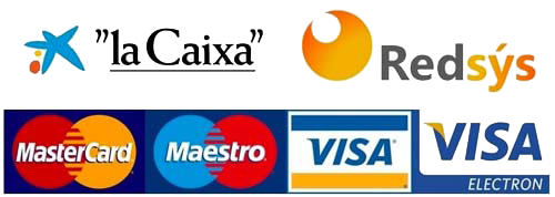 Payment through credit card like Visa or MasterCard